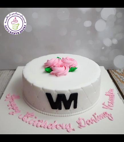 Cake - Roses - Rose Cream 02