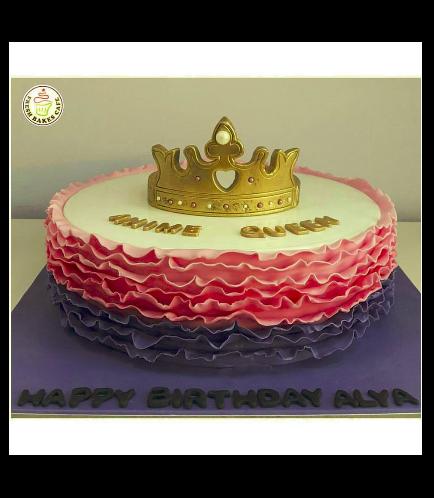 Fondant Ruffle Cake 3b