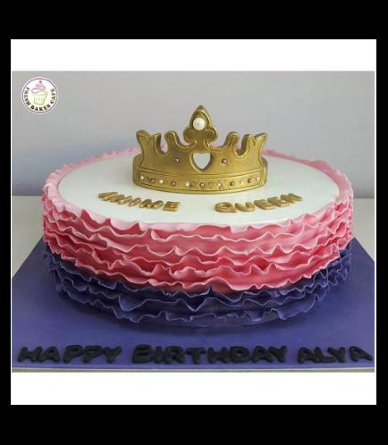 Fondant Ruffle Cake 03b