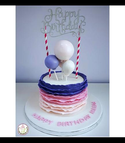 Balloon Themed Cake 05