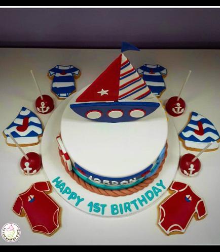 Cake - Sailboat 02b