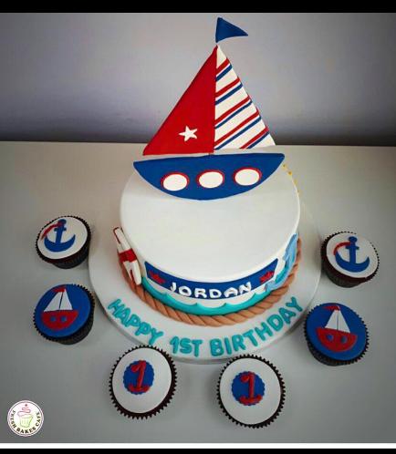 Cake - Sailboat 02d