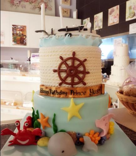 Sailing Themed Cake 01