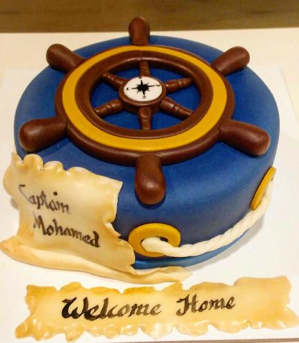 Sailing Themed Cake 02