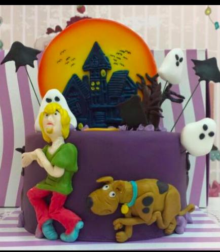 Scooby Doo Themed Cake 01