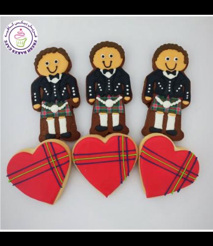 Scottish Themed Cookies