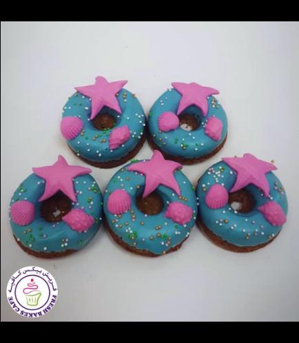 Sea Shells Themed Donuts