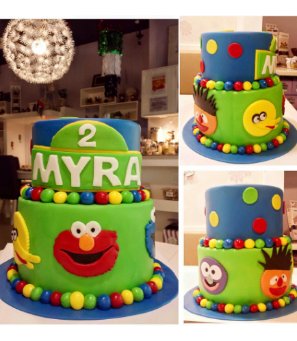 Cake - 2D Cake Toppers - 2 Tier