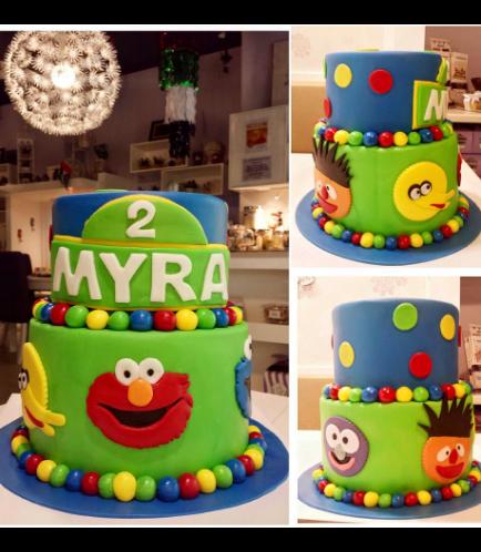 Sesame Street Themed Cake 02