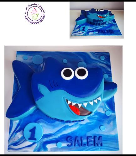 Baby Shark Themed Cake 01