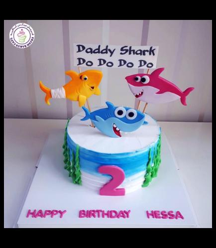 Baby Shark Themed Cake 02a