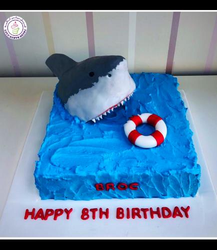 Shark Themed Cake 02