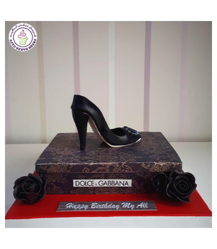 Shoes Themed Cake - Dolce Gabbana 01a