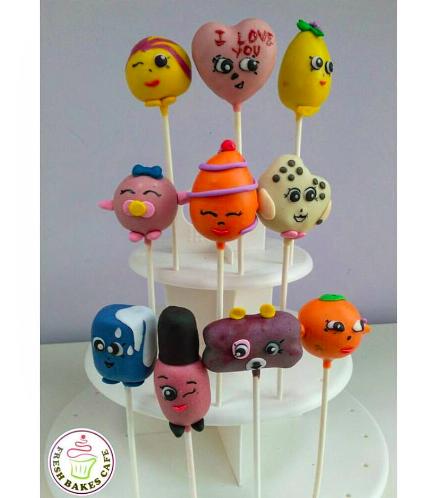 Shopkins Themed Cake Pops 02