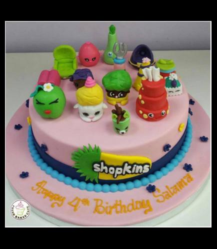 Shopkins Themed Cake 01