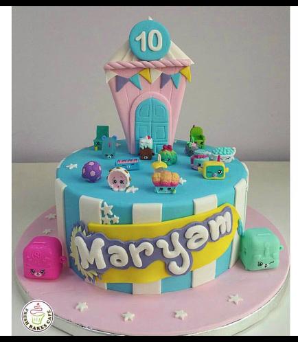Cake - 2D Cake Topper - Toys