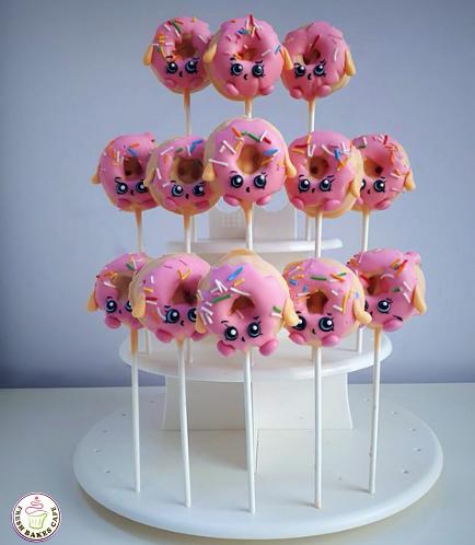 Shopkins Themed Donut Pops