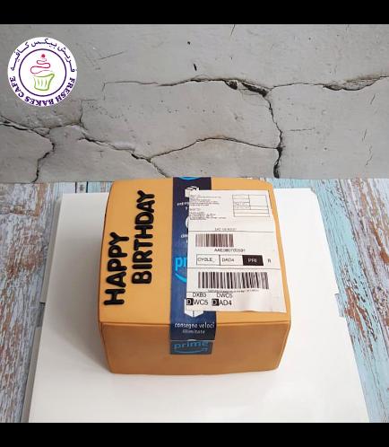Shopping Themed Cake - Amazon Prime Box - 3D Cake