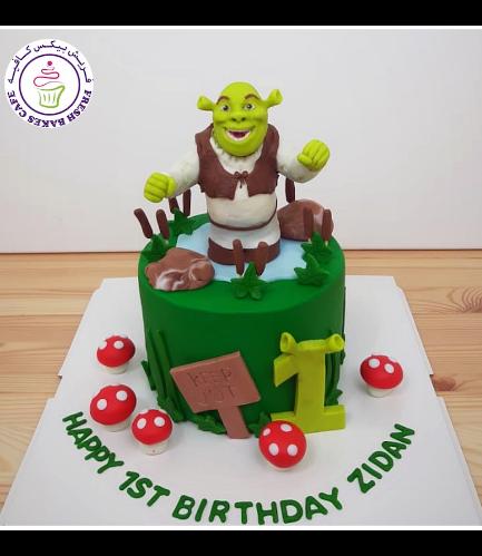 Cake - Shrek