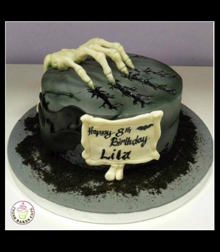 Cake - Skeleton Hand
