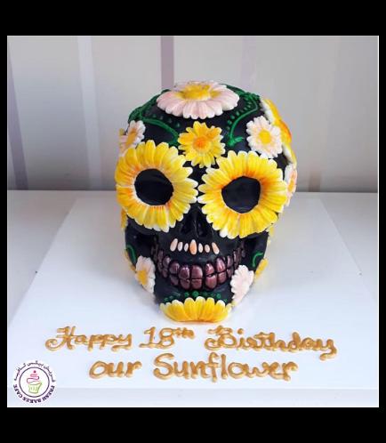 Skull Themed Cake 03a