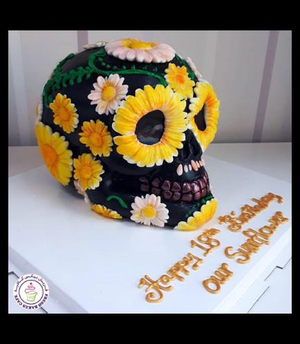 Skull Themed Cake 03b