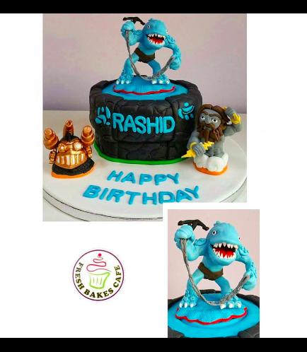 Skylanders Themed Cake 03