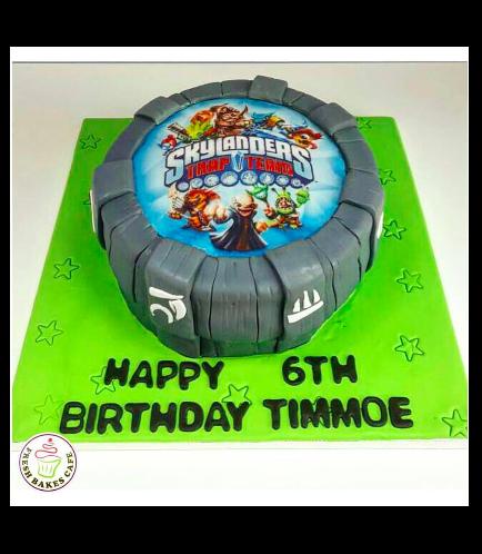 Skylanders Themed Cake 02