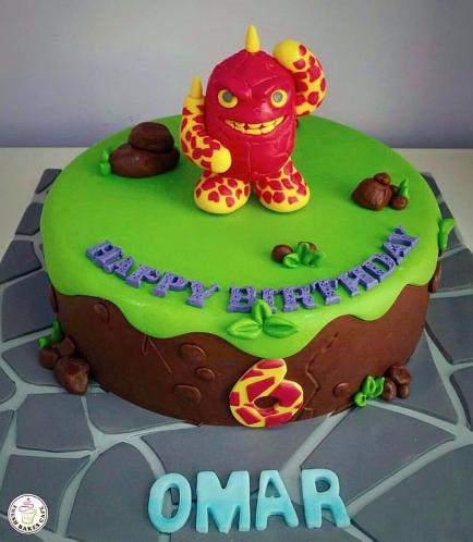 Skylanders Themed Cake 04