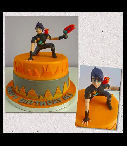 Slug Terra Themed Cake