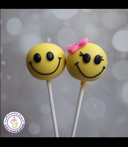 Smiley Themed Cake Pops 04