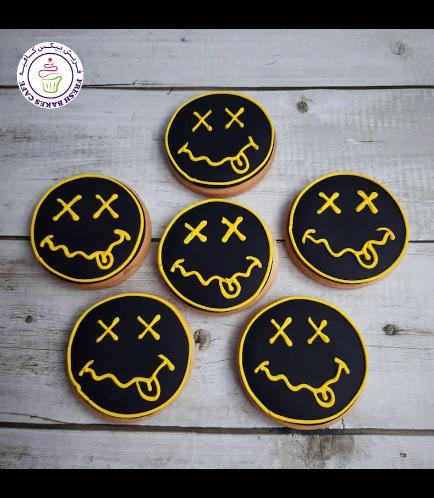 Smiley Themed Cookies - Nirvana