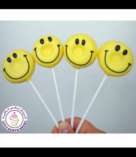 Smiley Themed Donut Pops 02