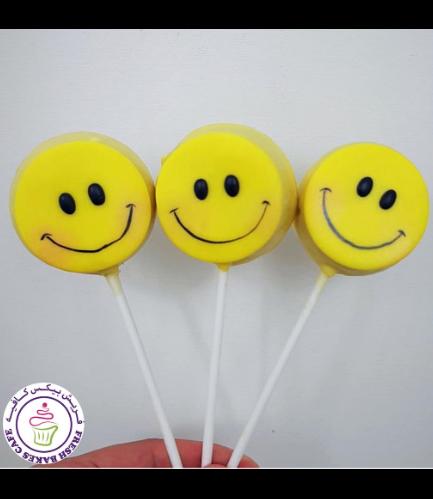 Smiley Themed Donut Pops 01