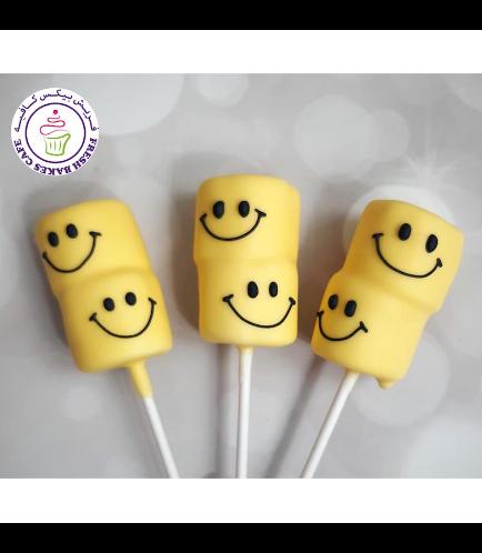 Smiley Themed Marshmallow Pops 02