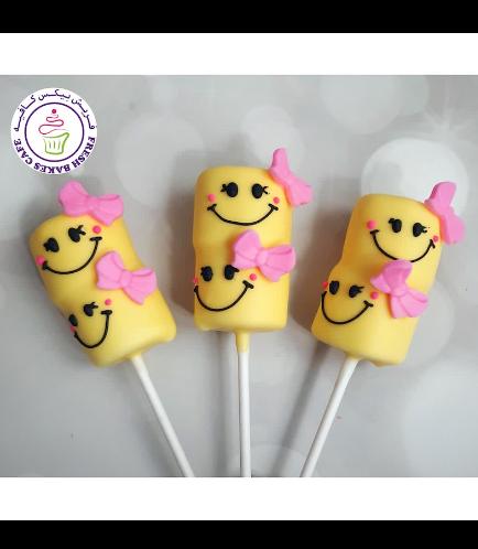 Smiley Themed Marshmallow Pops 03