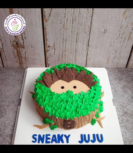 Sneaky Sasquash Themed Cake