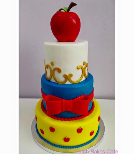Snow White Themed Cake 01