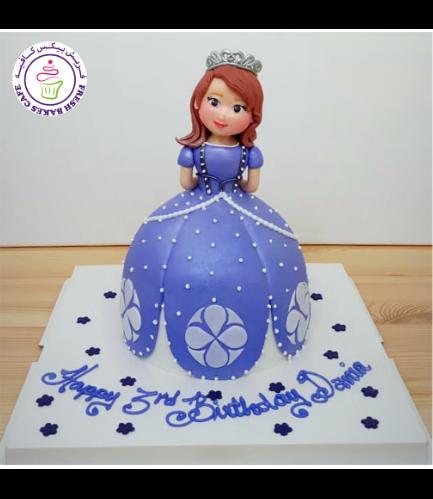 Cake - Sofia the First - Fondant