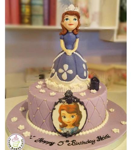 Cake - 3D Cake Topper - 1 Tier 01