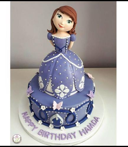Cake - 3D Cake Topper - 1 Tier 02