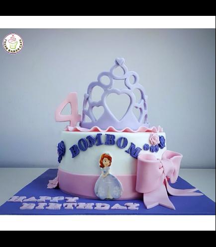 Sofia the First Themed Cake 14a