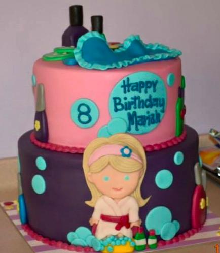 Spa Themed Cake 01