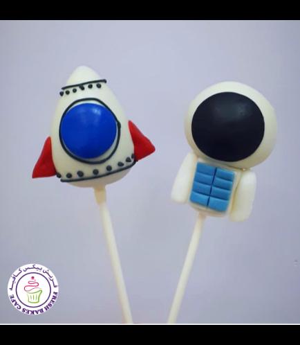 Cake Pops - Astronaut & Rocket Ship