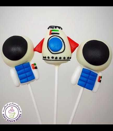 Cake Pops - Astronaut & Rocket Ship 01b