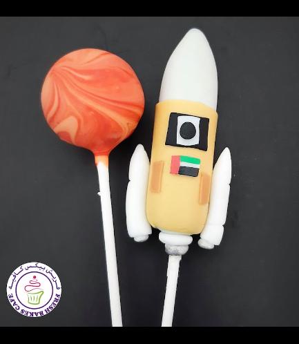 Cake Pops - Astronaut & Rocket Ship 02