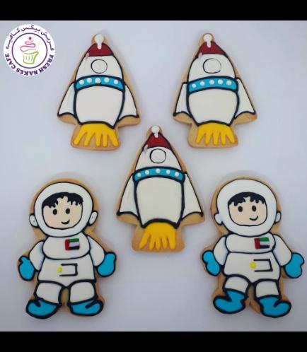 Cookies - Space - Astronaut & Rocket Ship