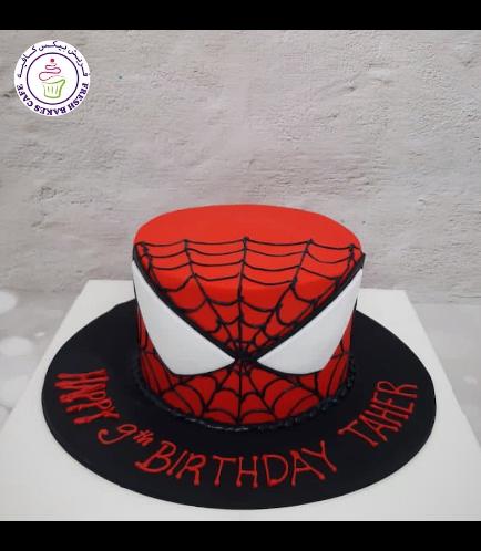 Spider-Man Themed Cake - 2D Cake 02