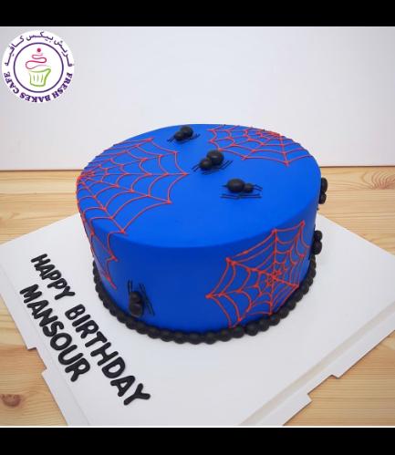 Spider-Man Themed Cake 02b
