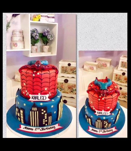 Spider-Man Themed Cake 06